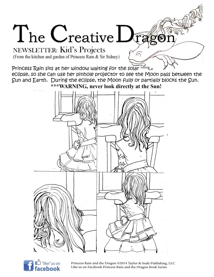 coloring pages u2013 princess rain and the dragon